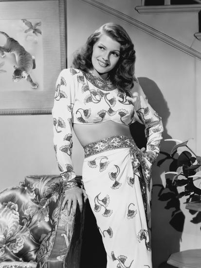 rita hayworth from gilda 1946 photo by art com