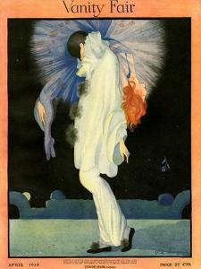 Vanity Fair Cover - April 1918 by Rita Senger