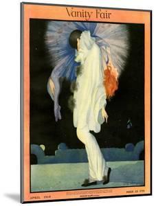 Vanity Fair Cover - April 1918 by Rita Senger