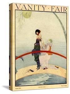 Vanity Fair Cover - August 1919 by Rita Senger