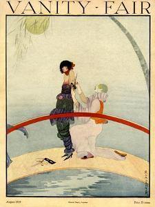 Vanity Fair Cover - August 1919 by Rita Senger