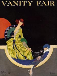 Vanity Fair Cover - September 1915 by Rita Senger
