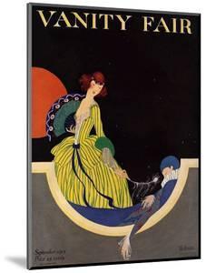 Vanity Fair Cover - September 1915 by Rita Senger