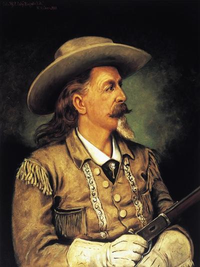 Ritratto Di Buffalo Bill, Pseudonym of William Frederick Cody--Giclee Print