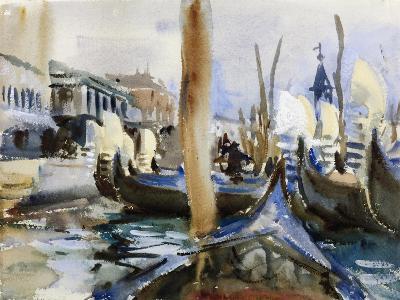 Riva Degli Schiavoni, Venice-John Singer Sargent-Giclee Print
