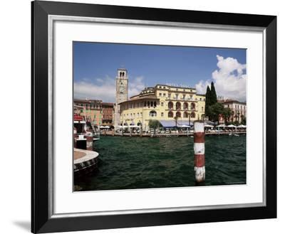 Riva Del Garda, Lago Di Garda (Lake Garda), Trentino-Alto Adige, Italian Lakes, Italy-Gavin Hellier-Framed Photographic Print