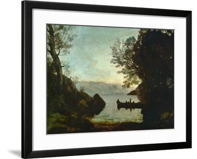 Riva, Italy-Jean-Baptiste-Camille Corot-Framed Giclee Print