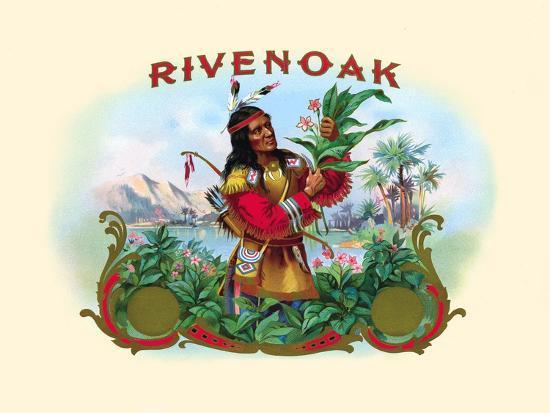 Rivenoak--Art Print