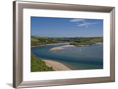 River Avon Bigbury estuary-Charles Bowman-Framed Photographic Print