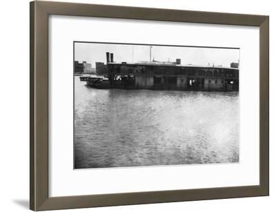 River Boat on the Tigris, Mosul, Mesopotamia, 1918