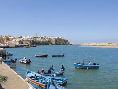 River Bouregreg, Rabat, Morocco, North Africa, Africa-Graham Lawrence-Photographic Print