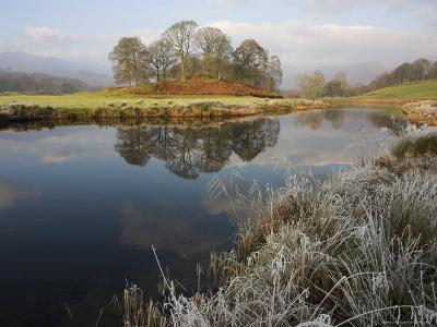 River Brathay in Winter, Near Elterwater, Lake District, Cumbria, England, United Kingdom-Steve & Ann Toon-Photographic Print