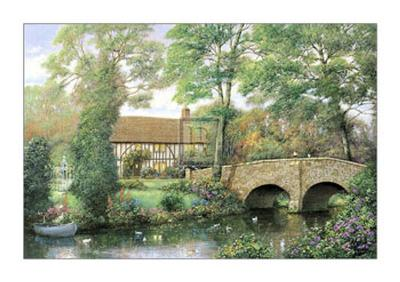 River Cottage-Alexander Sheridan-Art Print