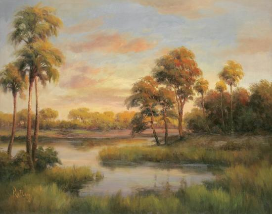 river-cove-with-palms-ii