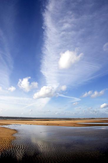 River Estuary-Dr. Keith Wheeler-Photographic Print