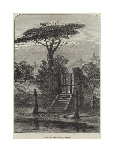 River Gate, Botanic Garden, Chelsea--Giclee Print