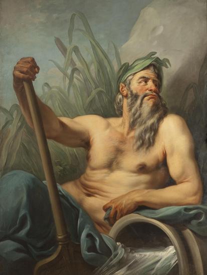 River God, c.1735-65-Carle van Loo-Giclee Print