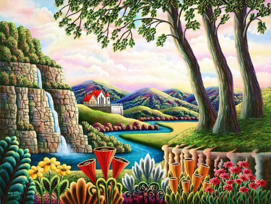 River of Dreams-Andy Russell-Art Print