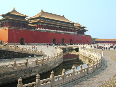 River of Gold, Forbidden City, Beijing, China, Asia-Kimberly Walker-Photographic Print