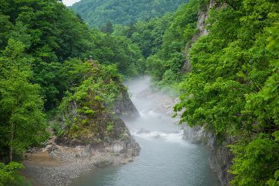 River of Jouzankei ,Hokkaido, Japan-Kelvin Tse Photography-Photographic Print
