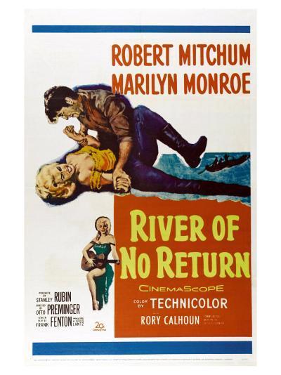 River of No Return, 1954--Art Print
