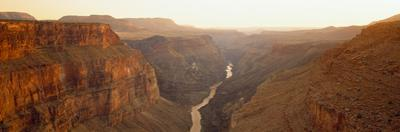 River Passing Through a Canyon, Toroweap Point, Grand Canyon National Park, Arizona, USA
