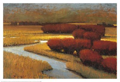 River Runs I-Seth Winegar-Art Print