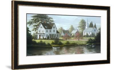 River's Edge-Bill Saunders-Framed Art Print