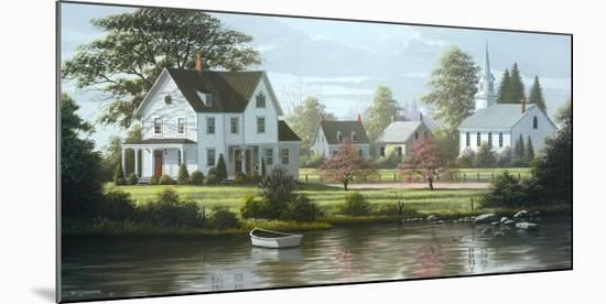 River's Edge-Bill Saunders-Mounted Art Print