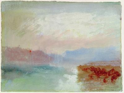 River Scene, 1834-J^ M^ W^ Turner-Giclee Print