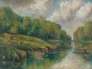 River Scene, 1903