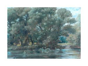River Scene, 1907
