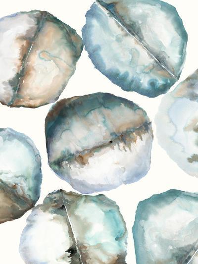 River Stones-Lora Gold-Art Print