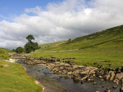 River Wharfe, Upper Wharfedale, Yorkshire Dales National Park, North Yorkshire, England, UK-White Gary-Photographic Print