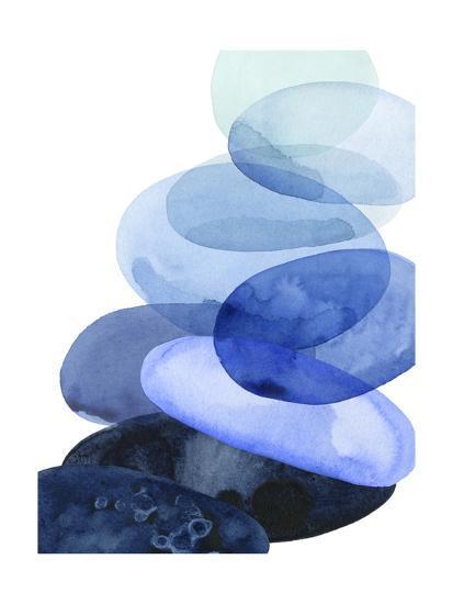River Worn Pebbles I-Grace Popp-Art Print