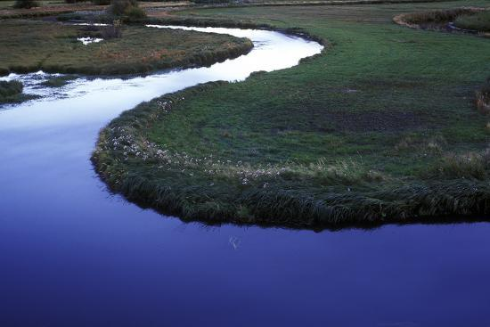 Riverbend in Gunnison National Forest, Colorado-Keith Ladzinski-Photographic Print