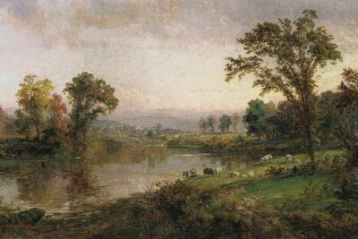 Riverscape - Early Autumn, 1888-Jasper Francis Cropsey-Giclee Print
