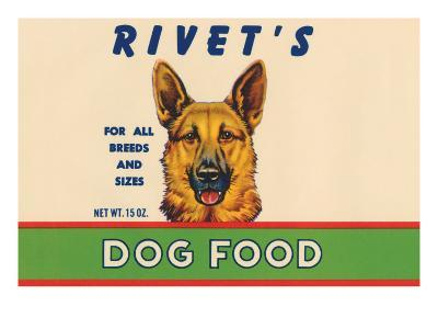 Rivet's Dog Food--Art Print