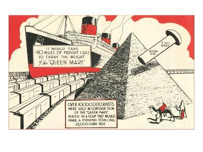 Rivets in the Queen Mary--Art Print