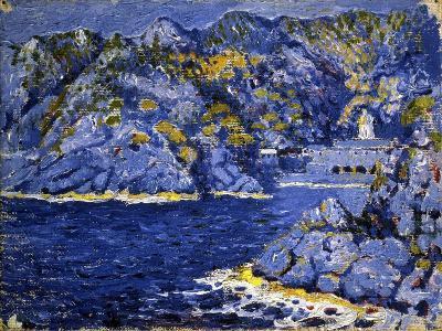 Riviera Lights-Rubaldo Merello-Art Print