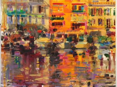 Riviera Summer-Peter Graham-Giclee Print