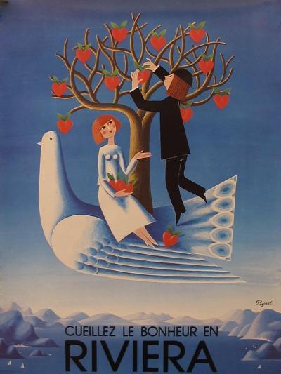 Riviera--Giclee Print