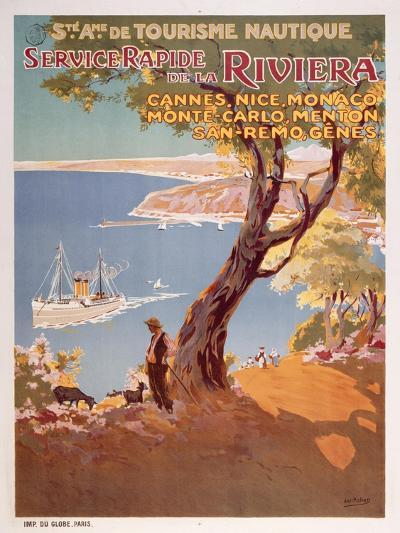 Riviera-Marcus Jules-Giclee Print