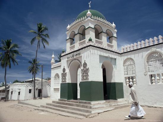 Riyadha Mosque, Lamu Island, Kenya, East Africa, Africa-Upperhall-Photographic Print