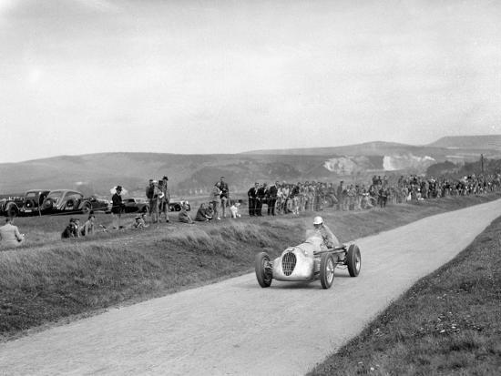RJW Appletons Appleton-Riley Special, Lewes Speed Trials, Sussex, 1938-Bill Brunell-Photographic Print