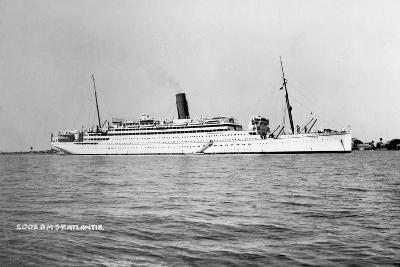 RMS Atlantis, C1929-C1952--Giclee Print