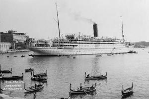 RMS Atlantis, Valetta, Malta, C1929-C1939