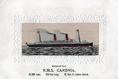 RMS Caronia, 20th Century--Giclee Print