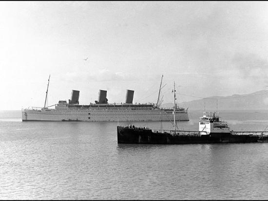 Rms Empress of Britain, Ocean Liner--Photographic Print
