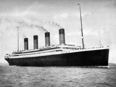 RMS Olympic, White Star Line Ocean Liner, 1911-1912-FGO Stuart-Giclee Print